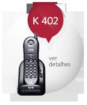 Telefone sem fio KEO K 402