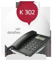 Telefone com fio KEO K 302
