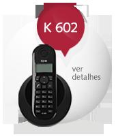 Telefone sem fio KEO K 602