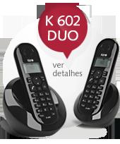 Telefone sem fio KEO K 602 DUO
