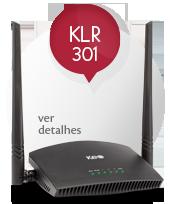 Roteador KLR 301